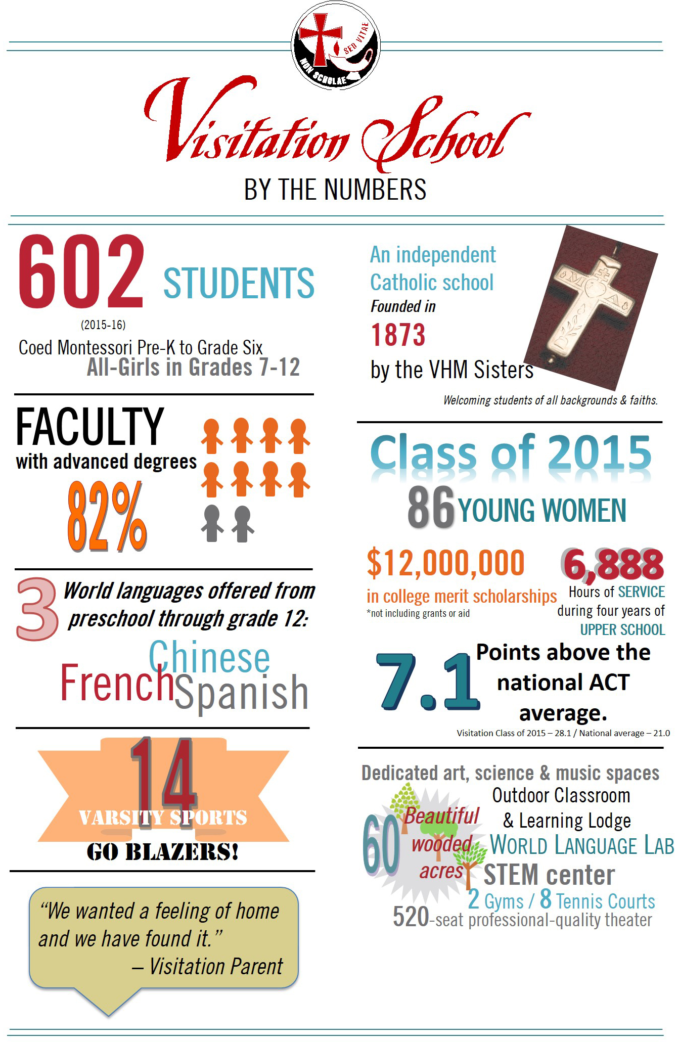 Vis By the Numbers Infographic