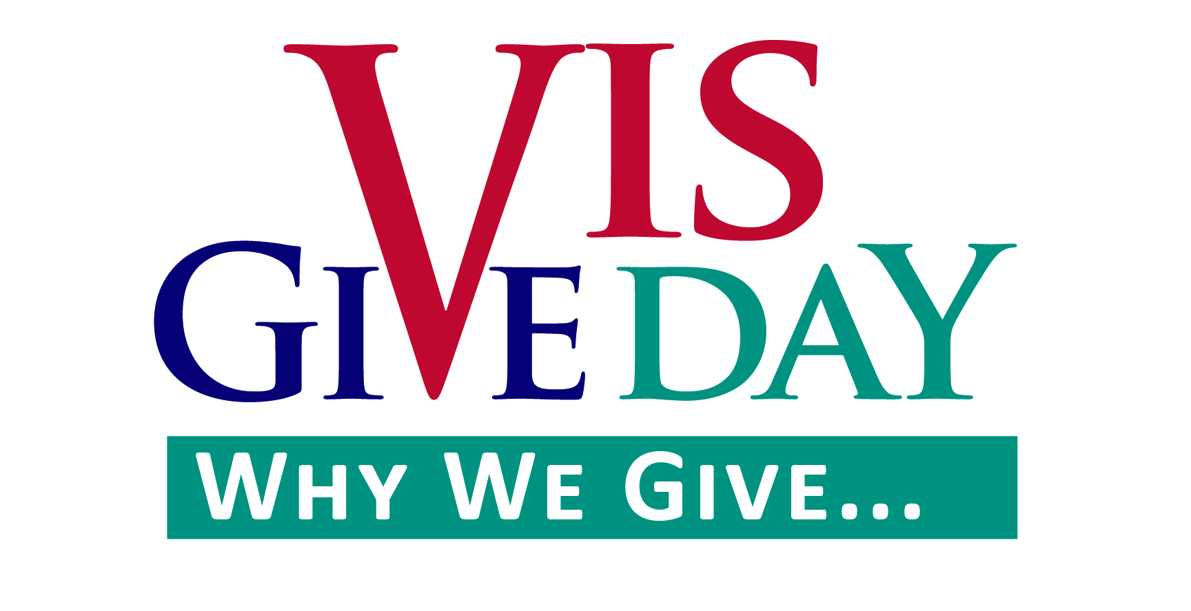 Vis Give Day: Why We Give logo