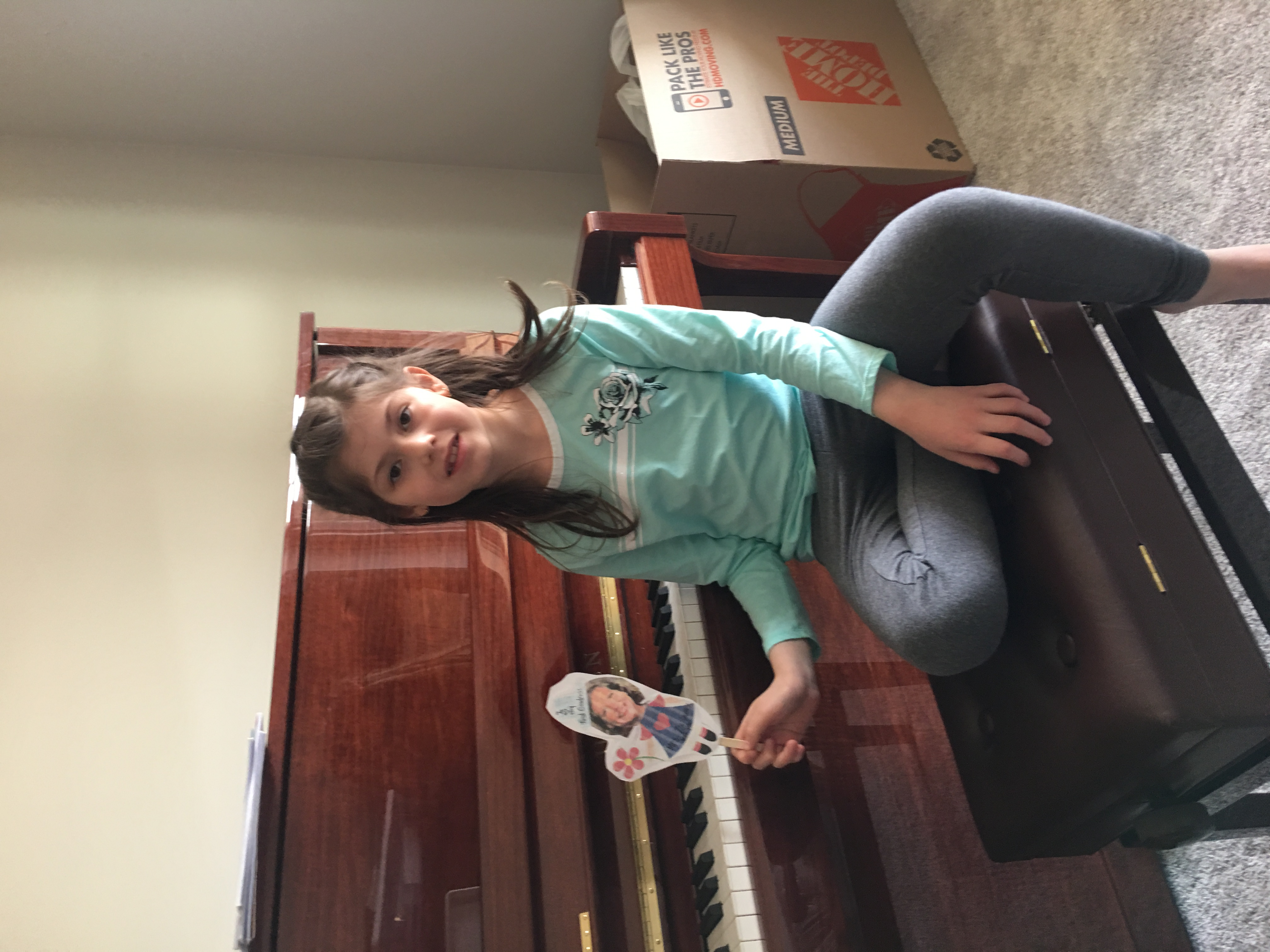 LS Student Distance Learning at Piano